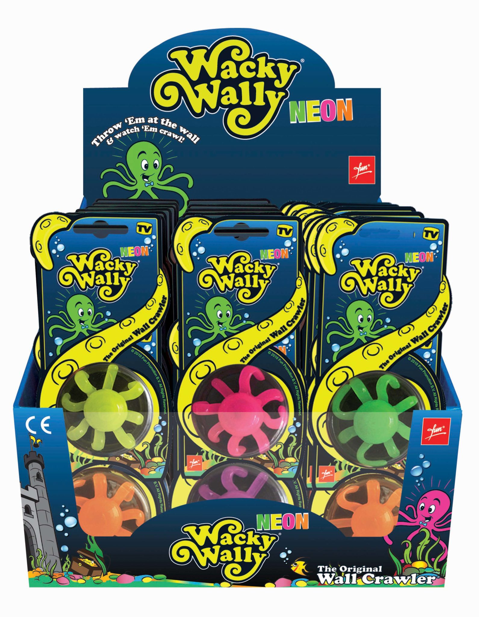 Wacky Wally Neon The Wall crawler
